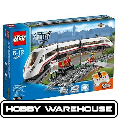 LEGO 60051 City High-Speed Passenger Train (BRAND NEW SEALED)