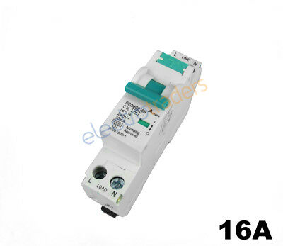 Safety Switch Circuit Breaker Combination RCBO Single Module 16 Amp 4.5kA Rated