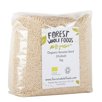 Forest Whole Foods - Organic Hulled (White) Sesame Seeds