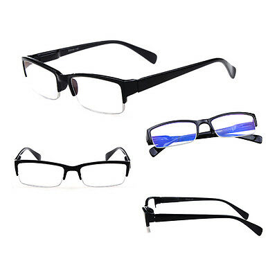 New 4 Colors New fashion half frame design Men Women reading glasses +1.0 to +4.