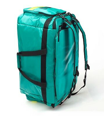 Medical/Paramedic/Emergency Advanced Life Support Bag (Green) *Pouches Inside*