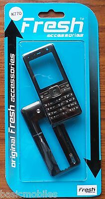 Sony Ericsson K770/K770i Black Fascia/Housing/Cover & Keypad.