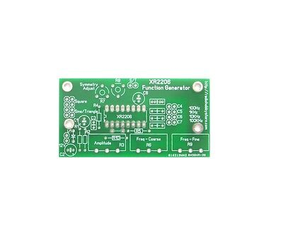 1pcs PCB for XR2206 Function Generator DIY Project