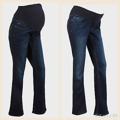 Next Maternity Bootcut Jeans.new.under Or Over Bump.size 8-22.s,r,l & Xl.rrp £28