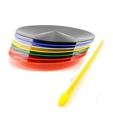 Spinning Plate + Stick - Juggling/ Circus Toy - Spin Plate - Choice of Colours