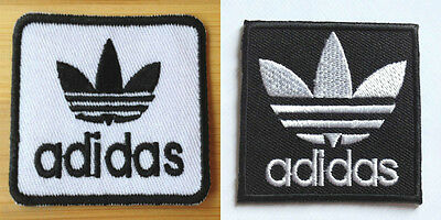 Adidas Patch Iron On Embroidered Badge Applique Toppa Patches Parche Aufnäher