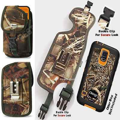 [A20] Pouch Perfect Fits Samsung Galaxy S6 Active Otterbox Defender Case On Clip