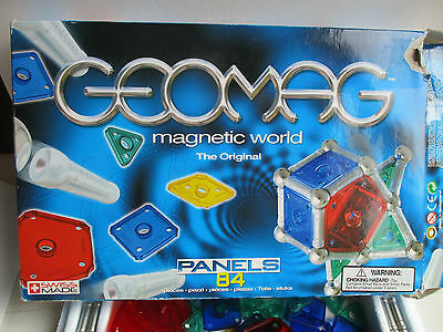 Balls Silver Blue Green Red Yel Geomag Collection Of 200 Genuine Rods Panels