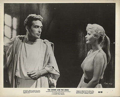 The Sword and the Cross 1960 Original Movie Poster Drama
