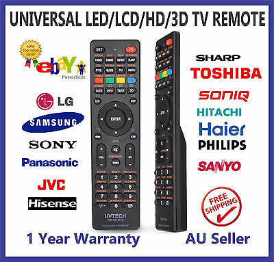 Universal TV Remote for SONIQ, HISENSE, KONKA,CHANGHONG,SKYWORTH, HITACHI, Haier