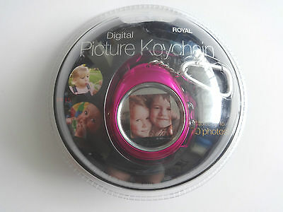 New ROYAL Digital Picture Frame Keychain PF-15