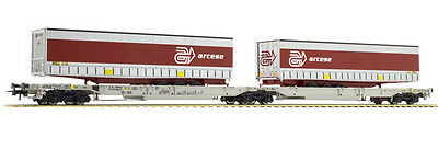 Roco Ho Scale 67408  Wagon Articulated Double Pocket Wagon T2000 Roc67408