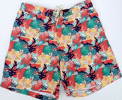 NEW - NWOT - RRP $179 - Mens NAUTICA Beach Sail Surf Swim Trunks Board Shorts