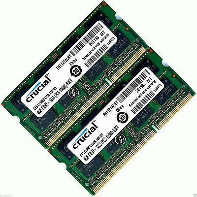 8GB 2x4GB  Memory Ram Upgrade for Dell Inspiron 15R (N5010)