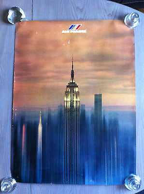 Affiche Air France New York Photo  F  Hidalgo
