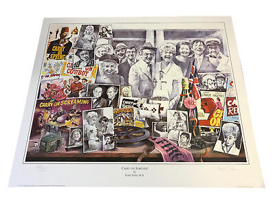 Carry on Forever inc Sid James Fantastic Limited Edition Art POSTER