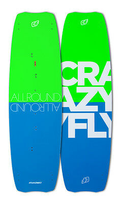 2016 CrazyFly Allround Kitesurfing Board - Beginner Intermediate Kiteboard new
