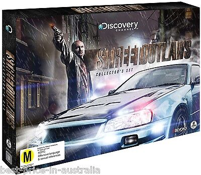 STREET OUTLAWS Collector's Set DVD 2016 BRAND NEW TV SERIES 8-DISCS DISCOVERY R4