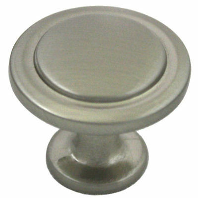 *100 Pack* Cosmas Cabinet Hardware Satin Nickel Round Cabinet Knobs #5560