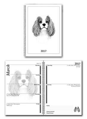 Cavalier King Charles Spaniel Small 2017 Dog Show Diary with Show Dates