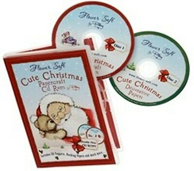 Katy Sue Designs (Flowersoft) Cute Christmas Papercraft DOUBLE CD-ROM