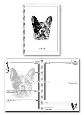French Bulldog Small 2017 Dog Show Diary with Championship Show Dates