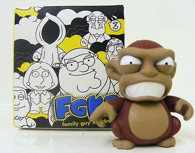 FAMILY GUY KIDROBOT EVIL ANGRY MONKEY Figure wave 1