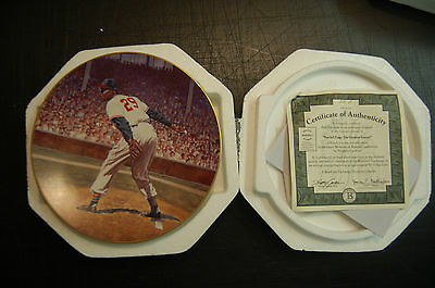 Satchel Paige His Greates Games bradford Exchange plate collector collection
