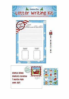 Disney frozen letter to santa activity pack father christmas letter letter to santa claus father christmas xmas present wish list children gift pack spiritdancerdesigns Images