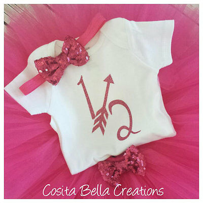 Half birthday outfit,pink and gold half bodysuit,pink glitter,Handmade