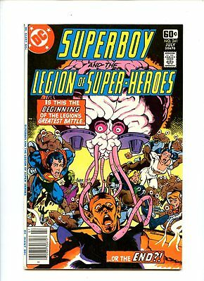 Superboy and the Legion of Super-Heroes #241 (1978) VF+ 8.5