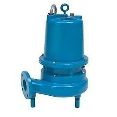 3 HP, 1750 RPM, 230V, 21.5 Amps - Submersible Sewage Pump 2-1/2""
