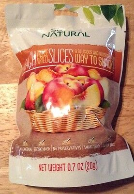 SO NATURAL PEACH, SLICES HEALTHY SNACS freeze dried all natural Gluten Free