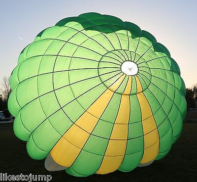 FreeFlight Preserve 24ft Round reserve skydiving pilot parachute canopy