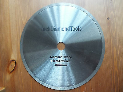Diamond   continuous rim general proposal SAW BLADE 9 inch