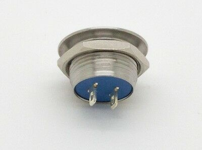 ATI-1203 12mm Clicky Low Profile PushButton Switch Short Depth (Domed Top)