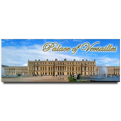 Fridge magnet with panoramic view of Palace of Versailles, France