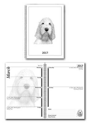 Italian Spinone Small 2017 Dog Show Diary with Championship Show Dates