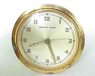 VERY Vintage Conquest Alarm Clock Made in France.
