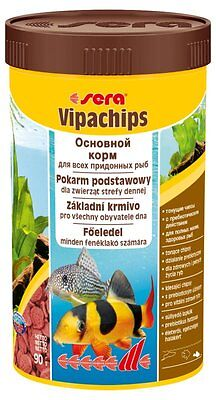 Sera  vipachips (Vipa Chips)  Staple food chips for bottom feeders