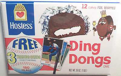 "Ding Dongs 2""x3"" Fridge or Locker MAGNET Wrapper Sweets Candy"