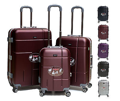 Hard Shell 4 Wheel Spinner  ABS Suitcases / 5 Colours.