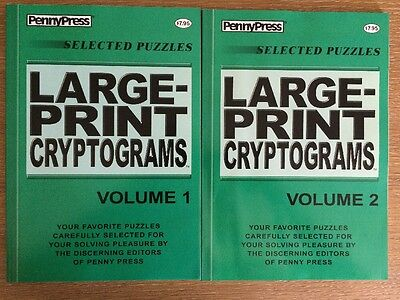 1 Dell Cryptograms Puzzle Book Vol 17 Free Shipping 695 Picclick