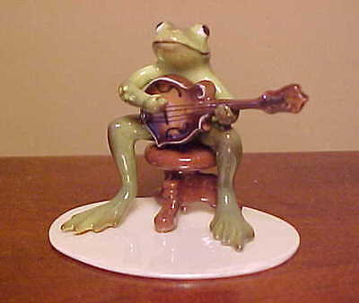 Hagen-Renaker Specialty #3288 Froggy/Froggie Mountain Breakdown MANDOLIN PLAYER
