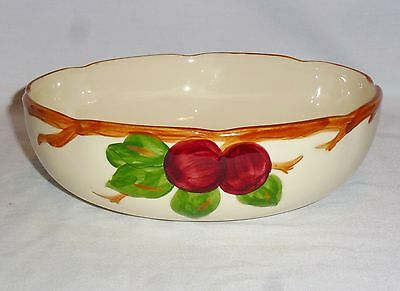 "Franciscan Apple Vegetable Bowl Made In USA (8 1/4"")"
