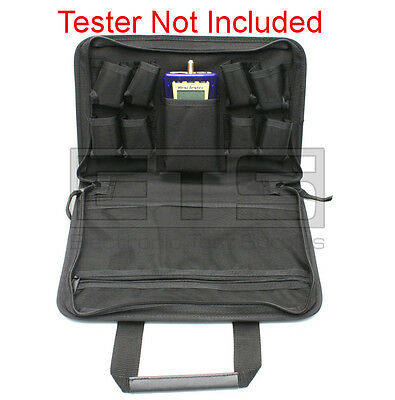 "Test-Um JDSU Resi-Tester TP300 Soft Pouch Carrying Case 12"" x 10"" x 2.25"""