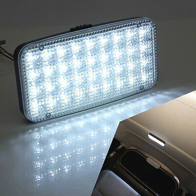 1*New  Car White Light 36 LED Indoor Lamp Reading Lamp Shed Light 12V Rectangle