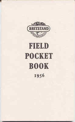 Britstand Field Pocket Book 1956