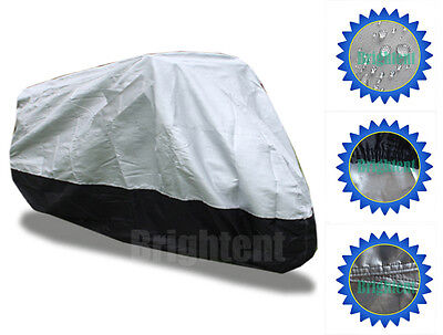 Waterproof Deluxe Cotton Lined Motorcycle Cover Fits BMW R1200GS Adventure BM3HS