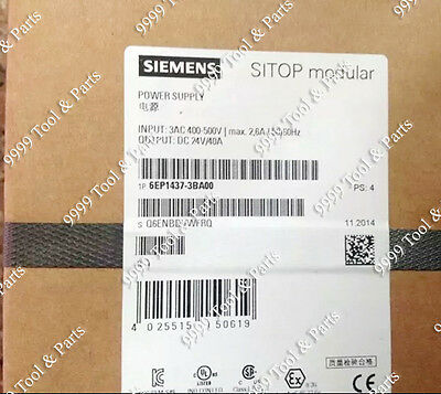 New in Box Siemens Power Supply 6EP1437-3BA00 6EP14373BA00
